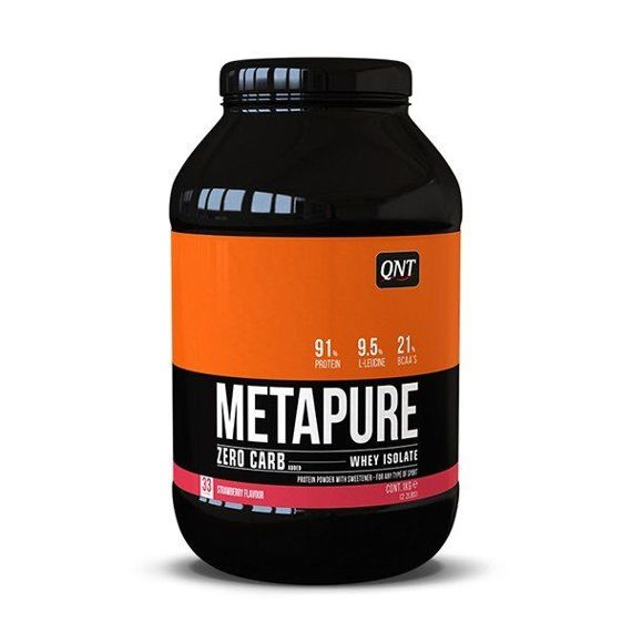 QNT - Metapure Zero Carb - 2 kg Strawberry