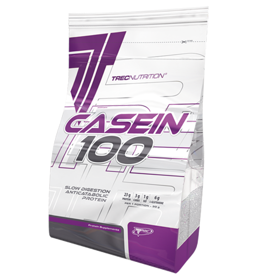 Trec - Casein 100 - 1800 g Strawberry-Banana