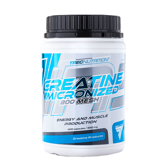 Trec - Creatine Micronized 200 Mesh - 400 caps.
