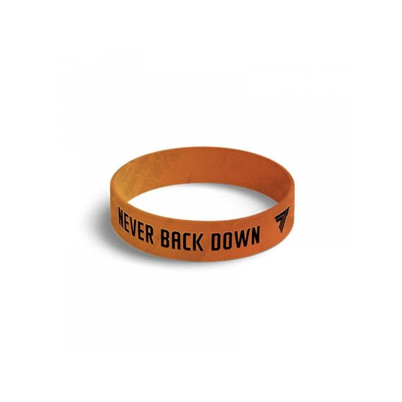 Trec - Wristband NEVER BACK DOWN 045