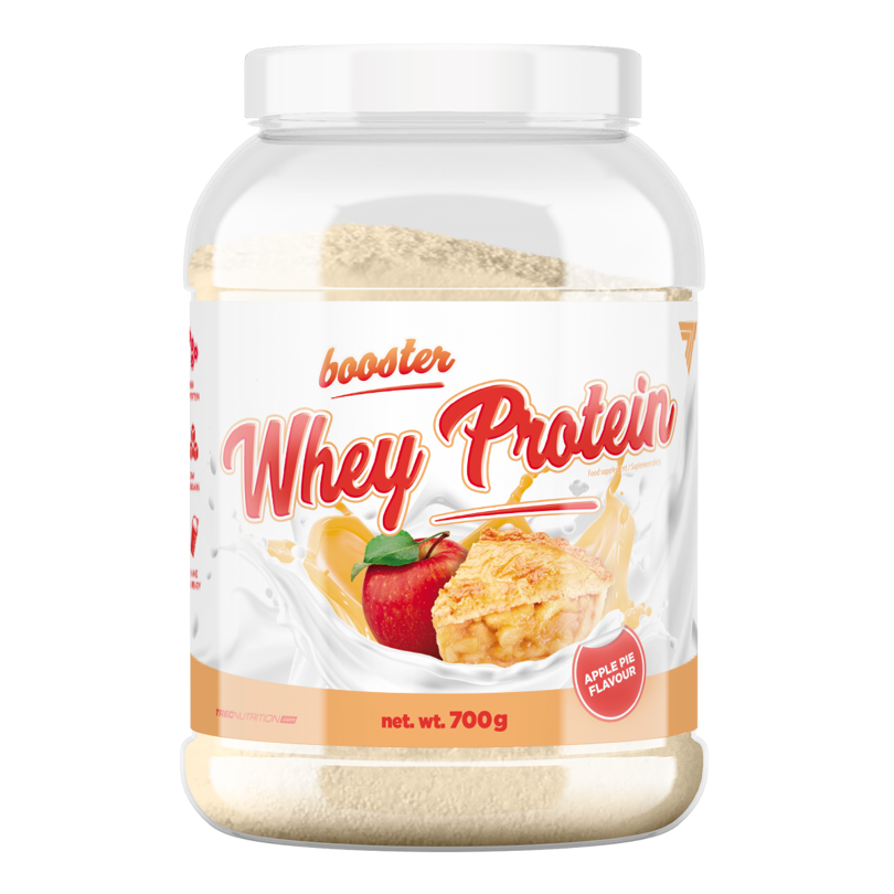 80d58d10be5e Trec - Booster Whey Protein - 700 g - Apple Pie szarlotka
