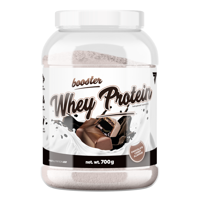 a92f8ca4074a Trec - Booster Whey Protein - 700 g - Chocolate-Candy cukierki ...