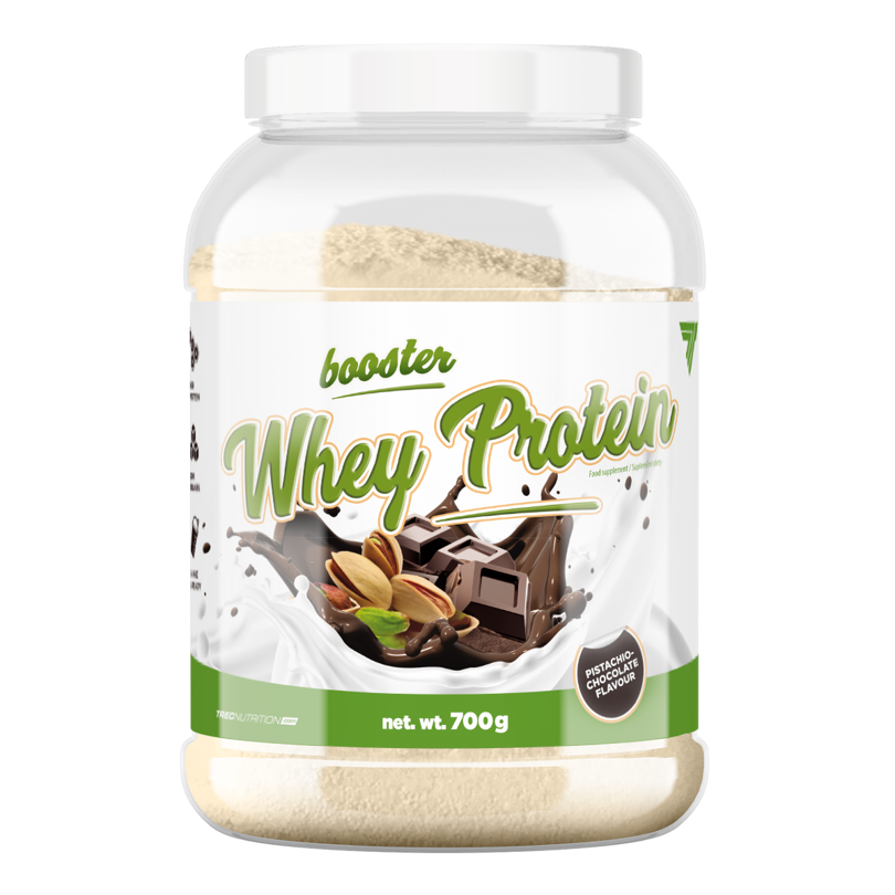 6c34892244d3 Trec - Booster Whey Protein - 700 g - Pistachio-Chocolate pistacjowo ...