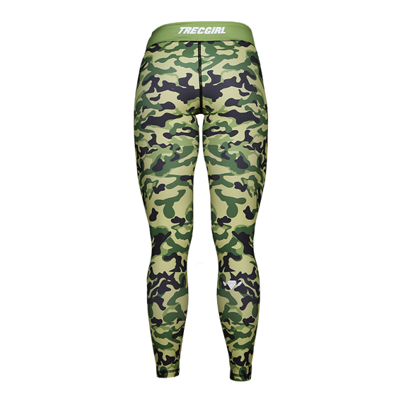 Trec - Leginsy damskie TW LEGGINGS TRECGIRL 019 STRONG CAMO